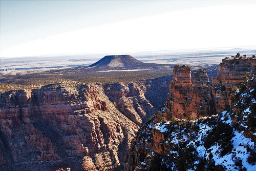 Scenic view of the Canyon