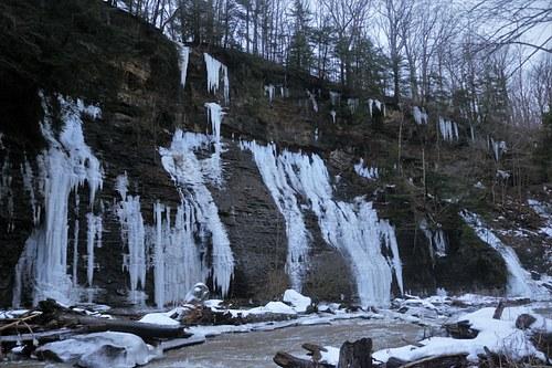 Frozen Cliffside