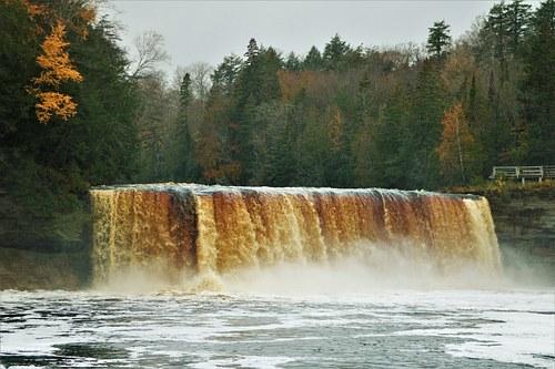 Falls in Paradise Michigan