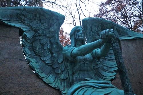 Statue in Graveyard