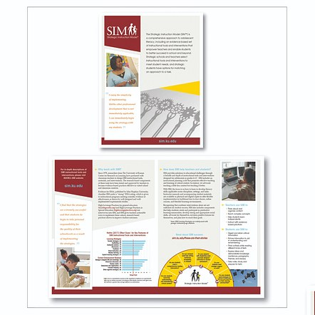 Print brochure design and development
