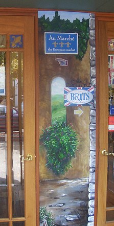 Vestibule Painting