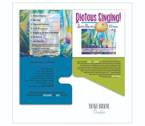 Branding for CD Release