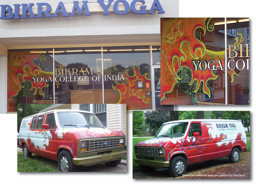 Branding for Bikram Yoga, Lawrence, KS
