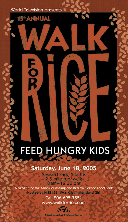 Walk for Rice poster