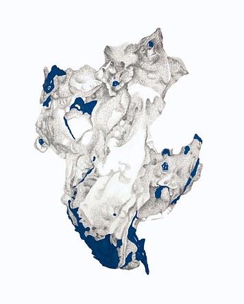 Kernel with Slate Blue