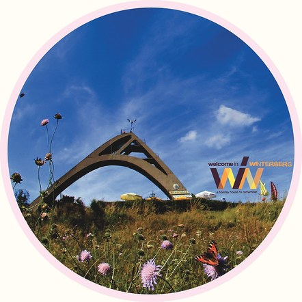 Welcome In - Winterberg Promo stickers