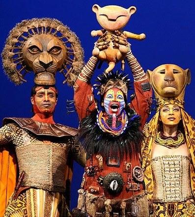 Disneys Lion king Musical  - Australia, South Africa