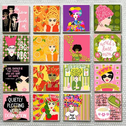 Sample of Coaster Designs