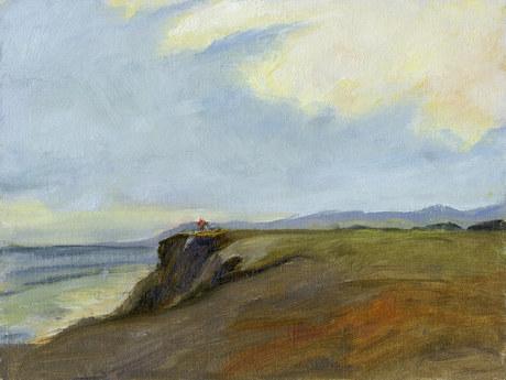 Painter at Naples Bluffs