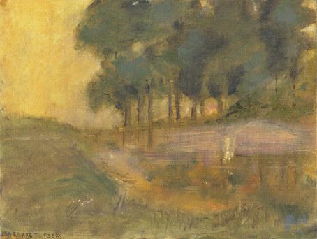 Pond Twilight