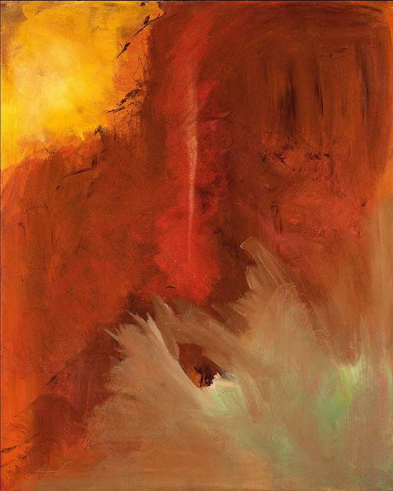 Vermont Abstract 18 (Fire and Ice)