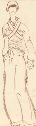 Fashion Sketch #4