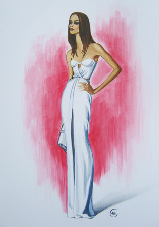 Burberry Prorsum Resort 2013 / White Dress