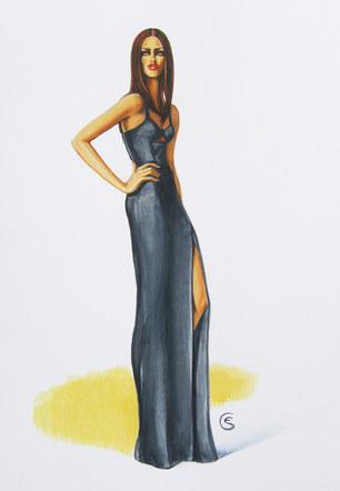 Burberry Prorsum Resort 2013 / Black Dress