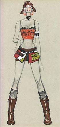 Watress Uniform for Adjara Nightclub