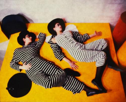 Striped Jumpsuits