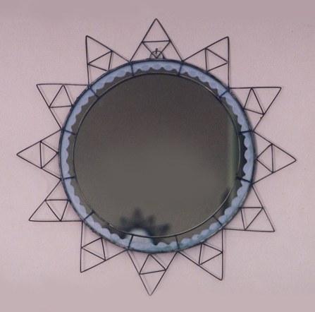 German Silver Mirror 1