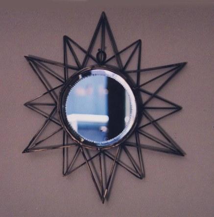 German Silver Mirror 2