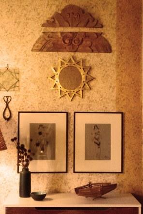 Gold Star Mirror