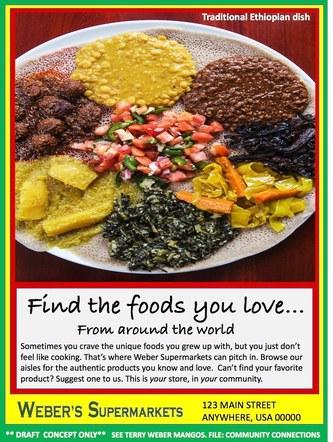 Ethnic Foods - Ethiopian Cuisine