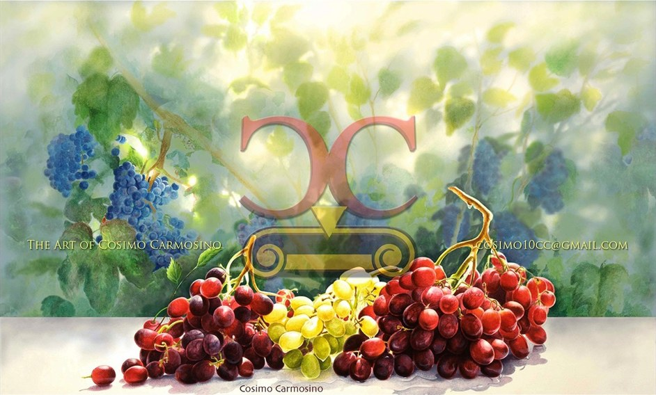 "TITLE: ""A Good Harvest of Grapes"" (Promotional Flyer_1)"