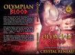 Crystal Reneau Olympian Blood Print Cover