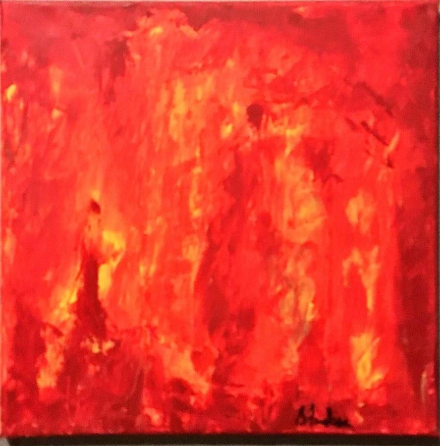 Fire Devours Their Wealth