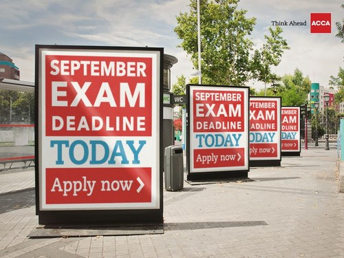 Don't say we didn't tell you! Make sure you get your application in for September exams by August 1st here: