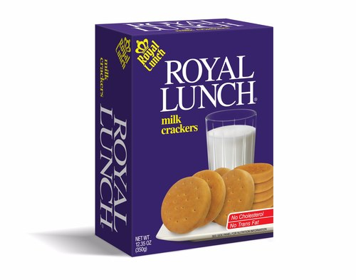 Royal Lunch Milk Crackers