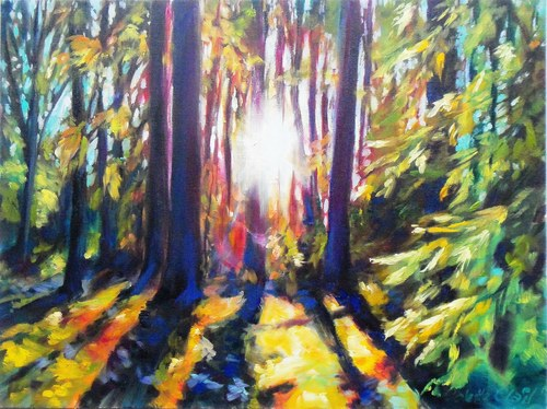 Sunlit Woodlands SOLD