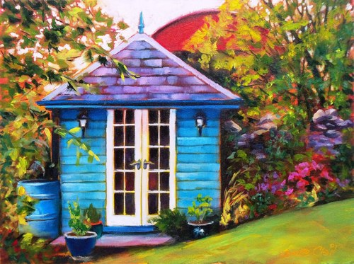 Little Blue Summerhouse