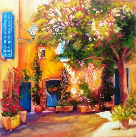 Le Cannet Courtyard