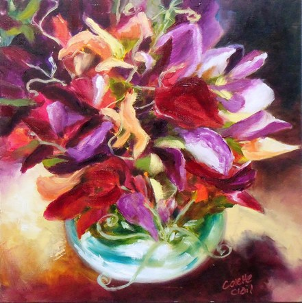 Bowl of Sweet Pea