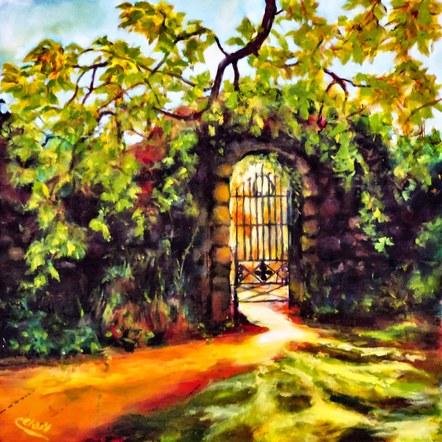 Usher gate