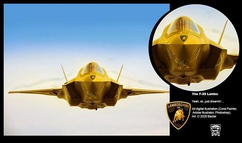 THE F-35 LAMBO
