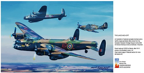 TWO LANCS AND A SPIT