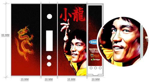 Bruce Lee Mod Wrap