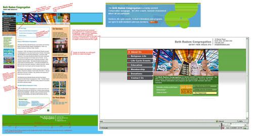 Beth Radom Website Design Elements