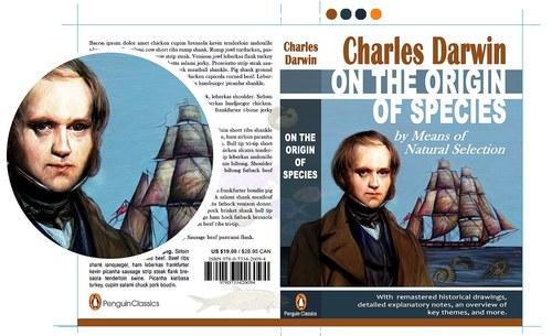 Book Cover-Origin of Species