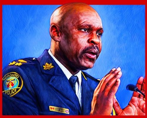 Toronto Police Chief Saunders