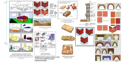 Masonry Illustration