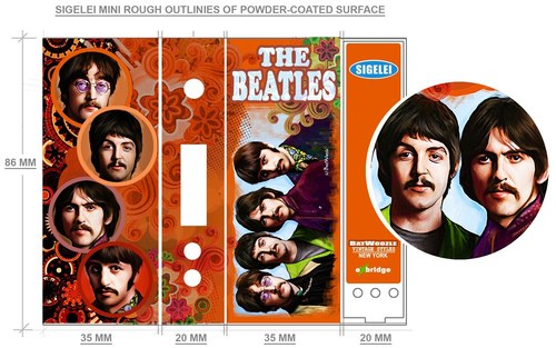 The Beatles AviVapes Box Mod Wrap