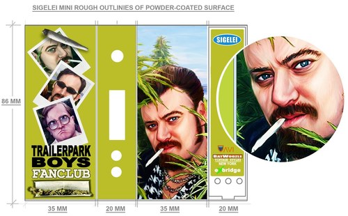 Trailer Park Boys-AviVapes Box Mod Wrap