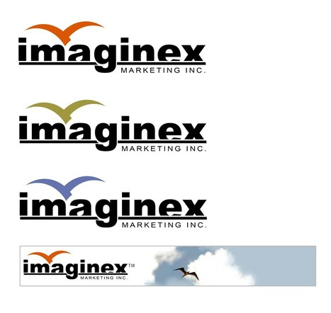 Imaginex Logo Design