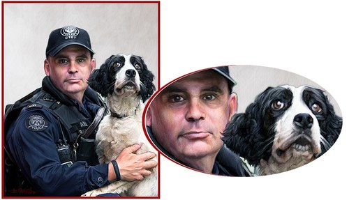 Police Constable Craig and Friend