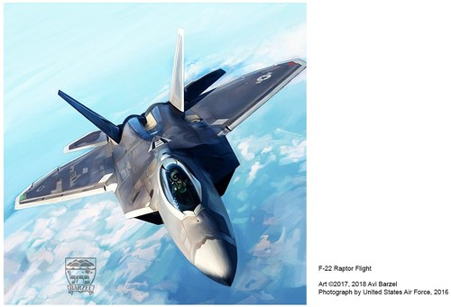 F-22 RAPTOR FLIGHT