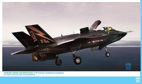 F-35 CARRIER LANDING (unfinished)