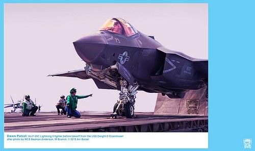 F-35C DAWN TAKEOFF