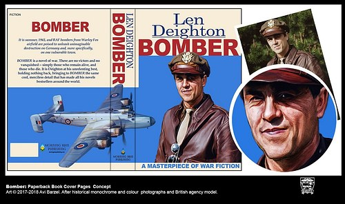 BOMBER BOOK COVER